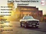 end to your financial crisis in kamloops