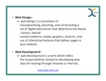 web design web design is a procedure