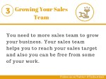 growing your sales team
