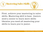 mastering sales skills