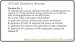vcs 257 questions answers 3