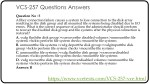 vcs 257 questions answers 4