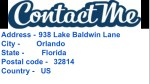address 938 lake baldwin lane city orlando state