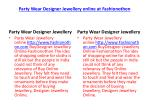 party wear designer jewellery online at fashionothon 4