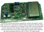 a printed circuit board pcb is intended