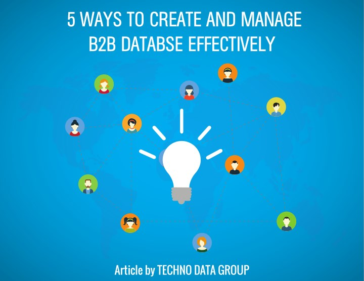 5 ways to create and manage b2b databse n.