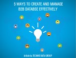 5 ways to create and manage b2b databse