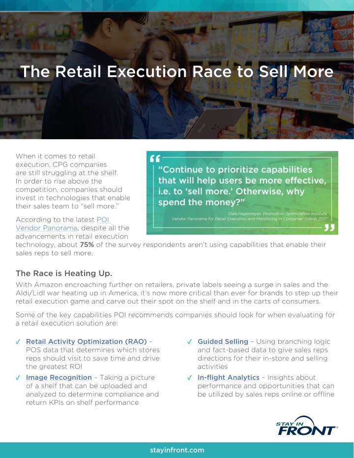 the retail execution race to sell more n.