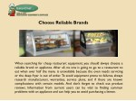 choose reliable brands