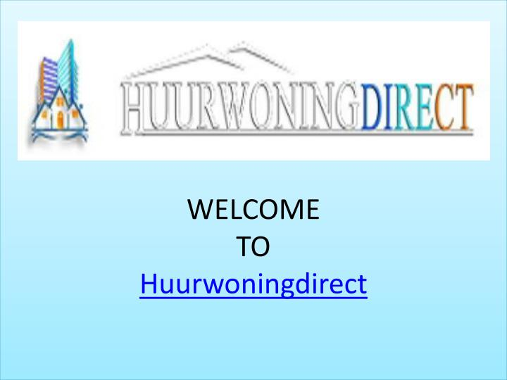 welcome to huurwoningdirect n.
