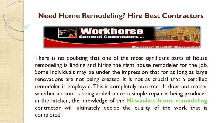 need home remodeling hire best contractors n.