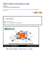 web programming step by step chapter