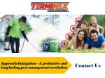 approach fumigation a productive and long lasting
