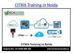 citrix training in noida