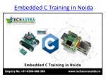 embedded c training in noida