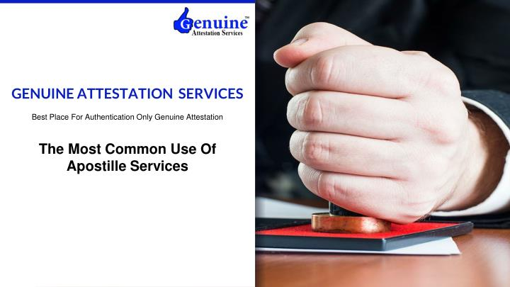 genuine attestation services n.
