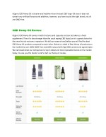 organic cbd hemp oil is cleaner and healthier