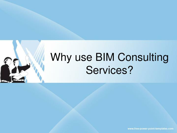 why use bim consulting services n.