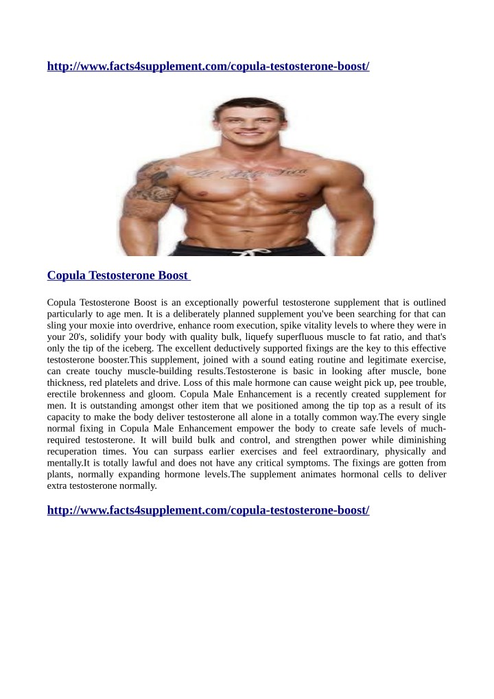 http www facts4supplement com copula testosterone n.