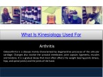 what is kinesiology used for