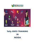 tally erp9 training in noida