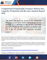 computerized tomography scanners market size
