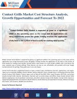 contact grills market cost structure analysis