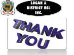 logan district rsl inc 7