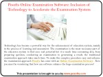 pesofts online examination software inclusion