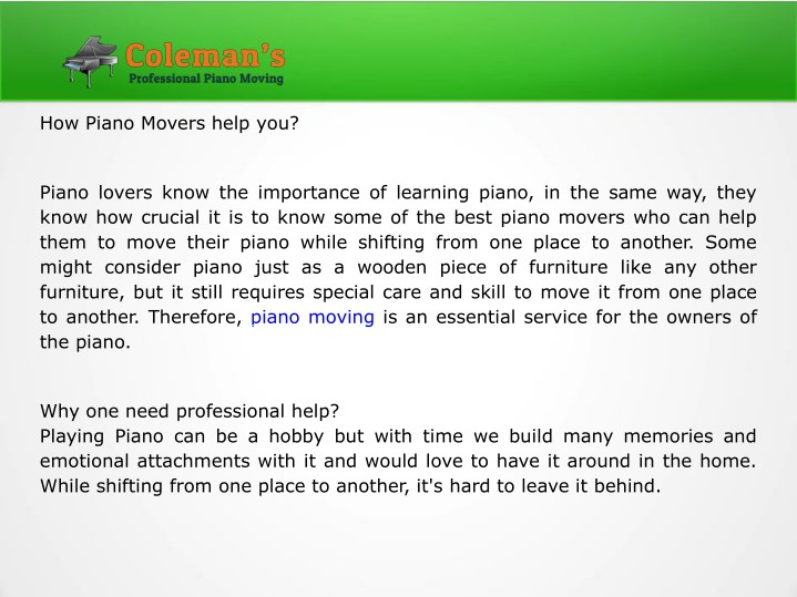 how piano movers help you n.
