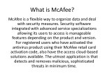 what is mcafee