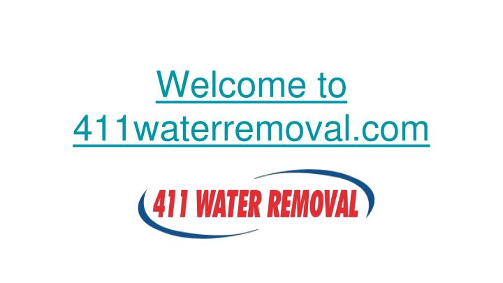 welcome to 411waterremoval com n.