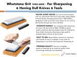 whetstone grit 1000 6000 for sharpening honing dull knives tools
