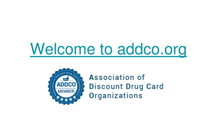welcome to addco org n.