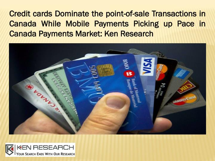 credit cards dominate the point of sale n.
