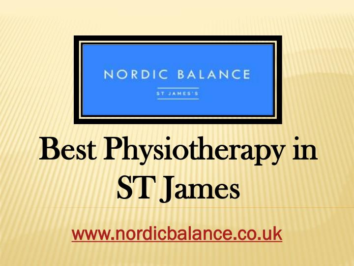 best physiotherapy in st james n.