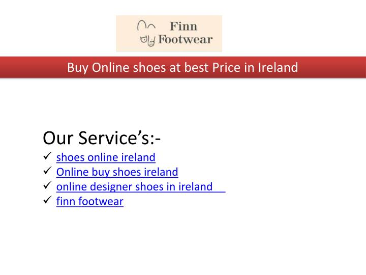 buy online shoes at best price in ireland n.