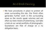 acid brick cleaning 1