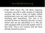 acid brick cleaning 2