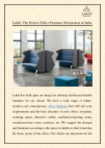 lakdi the perfect office furniture destination