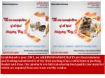 established in year 2001 we ashirwad handicrafts