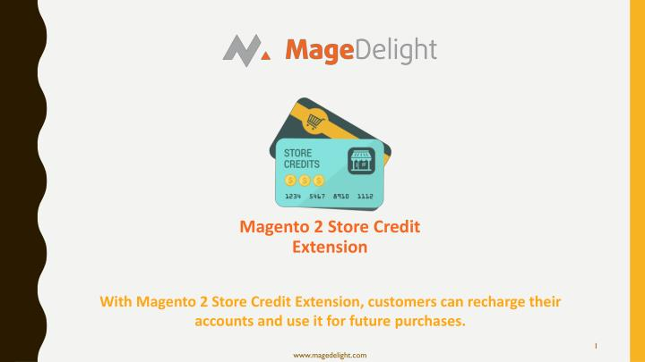 magento 2 store credit extension n.