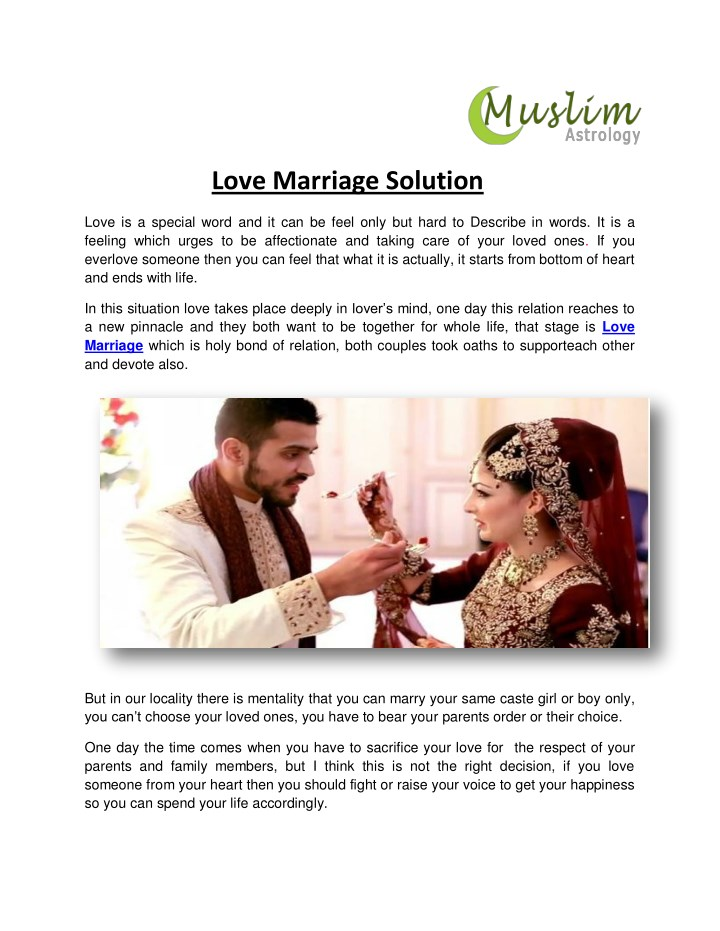 love marriage solution n.