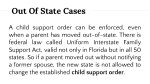 out of state cases