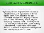 best labs in bangalore