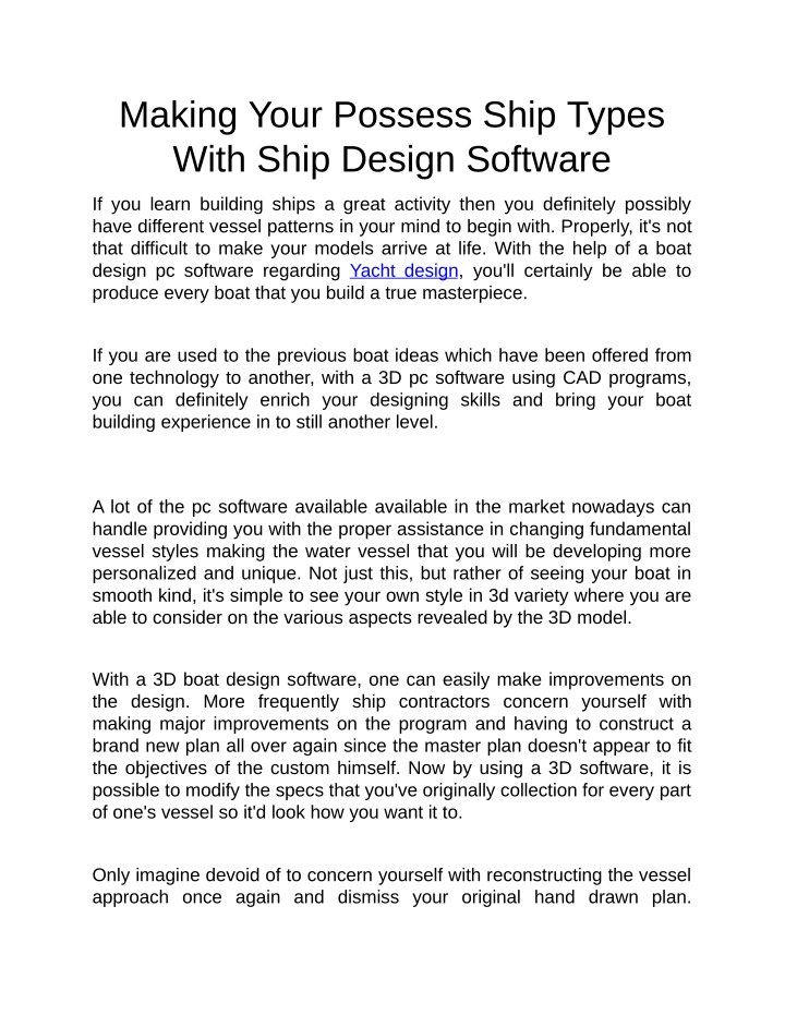 making your possess ship types with ship design n.