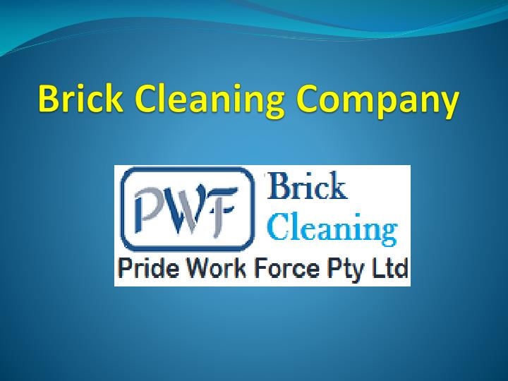 brick cleaning company n.