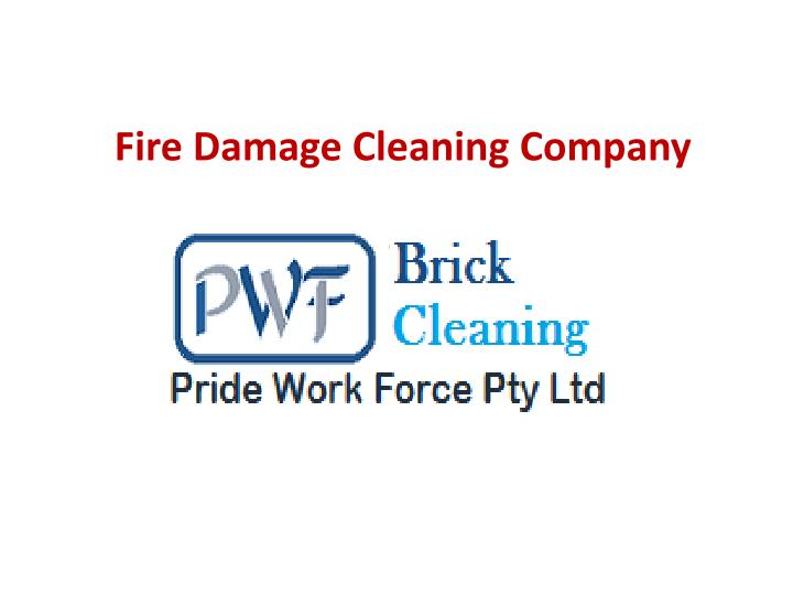 fire damage cleaning company n.