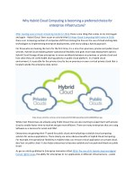 why why hybrid cloud computing hybrid cloud