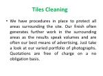 tiles cleaning 1